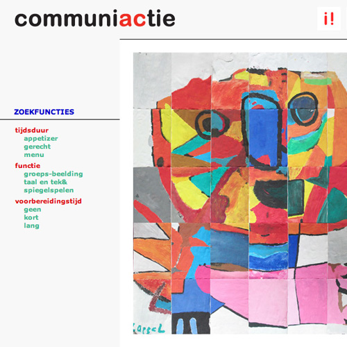 Project 'CommuniACtie': Website